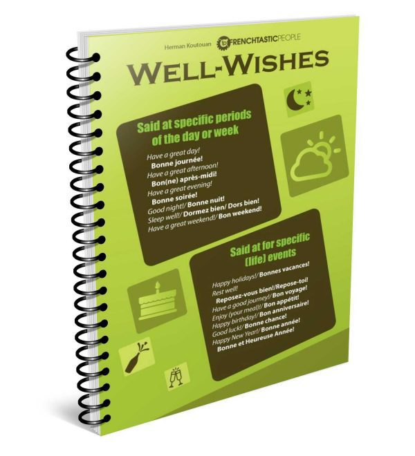 how to give well-wishes in french