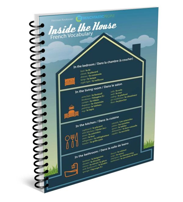 inside the house french infographic